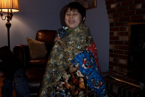 """""""I love my quilt!"""""""