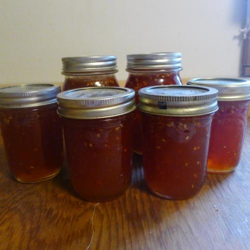 Tomato Jam--tastes similar to strawberry jam.